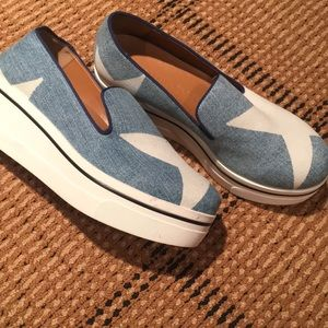 Stella McCartney Binx denim slip on sneakers